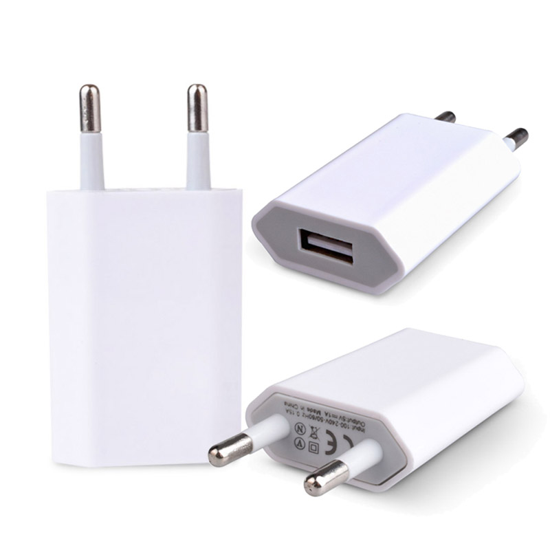 USB Charger 5V1A Universal Portable Travel