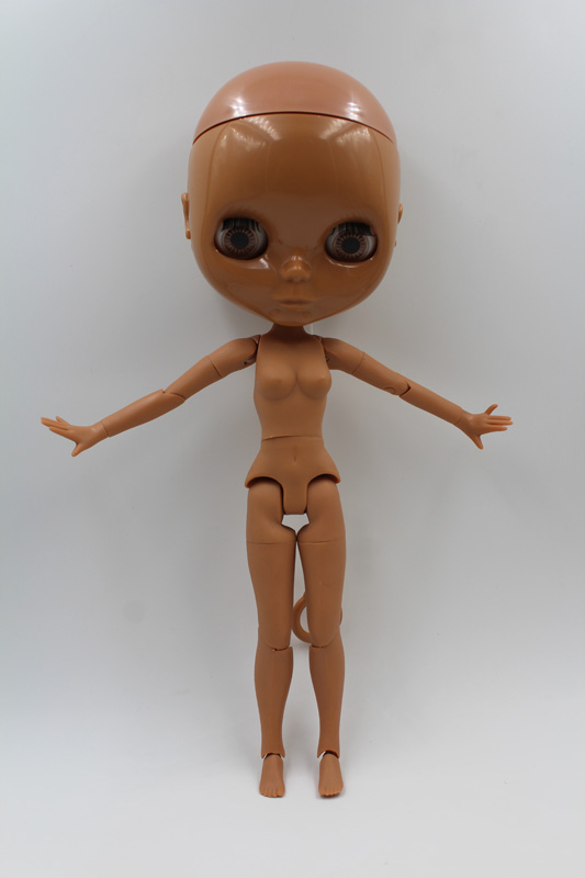 Free Shipping Top discount DIY Accessories doll's joint black body & head for Nude Blyth Doll with special price cheap offer free shipping top discount joint diy