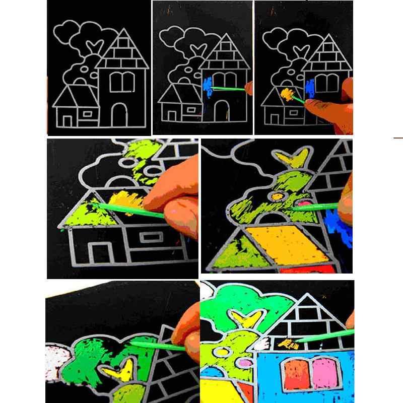 Nhiều Màu Sắc Đồ Chơi Vẽ Giấy Phép Thuật Tranh Giấy Vẽ Dành Cho Đồ Chơi Trẻ Em 1 Cái