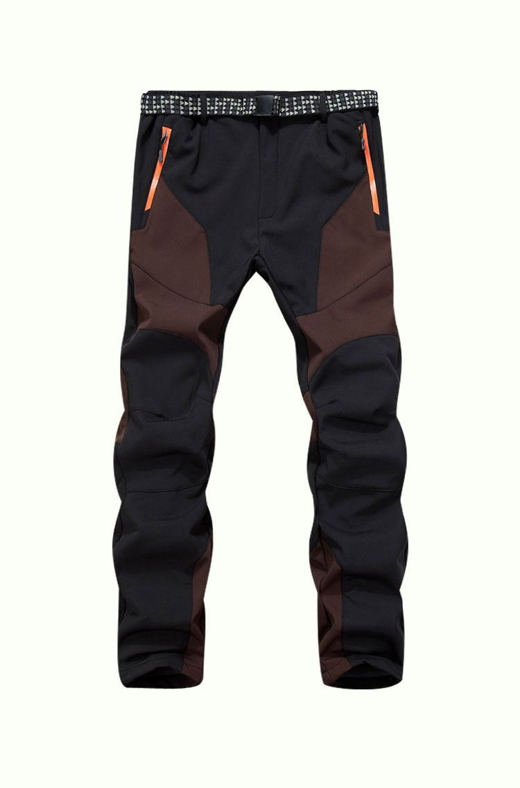 bdafe32d0c 2019 Winter Men Warm Softshell Fleece Pants Skiing Snowboard Outdoor ...