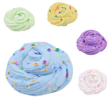 Slime Fluffy Foam Ball Could Slime Charms Putty Scented Stress Kids Soft Clay Toy Slime Supplies Anti Stress Plasticine Gifts(China)