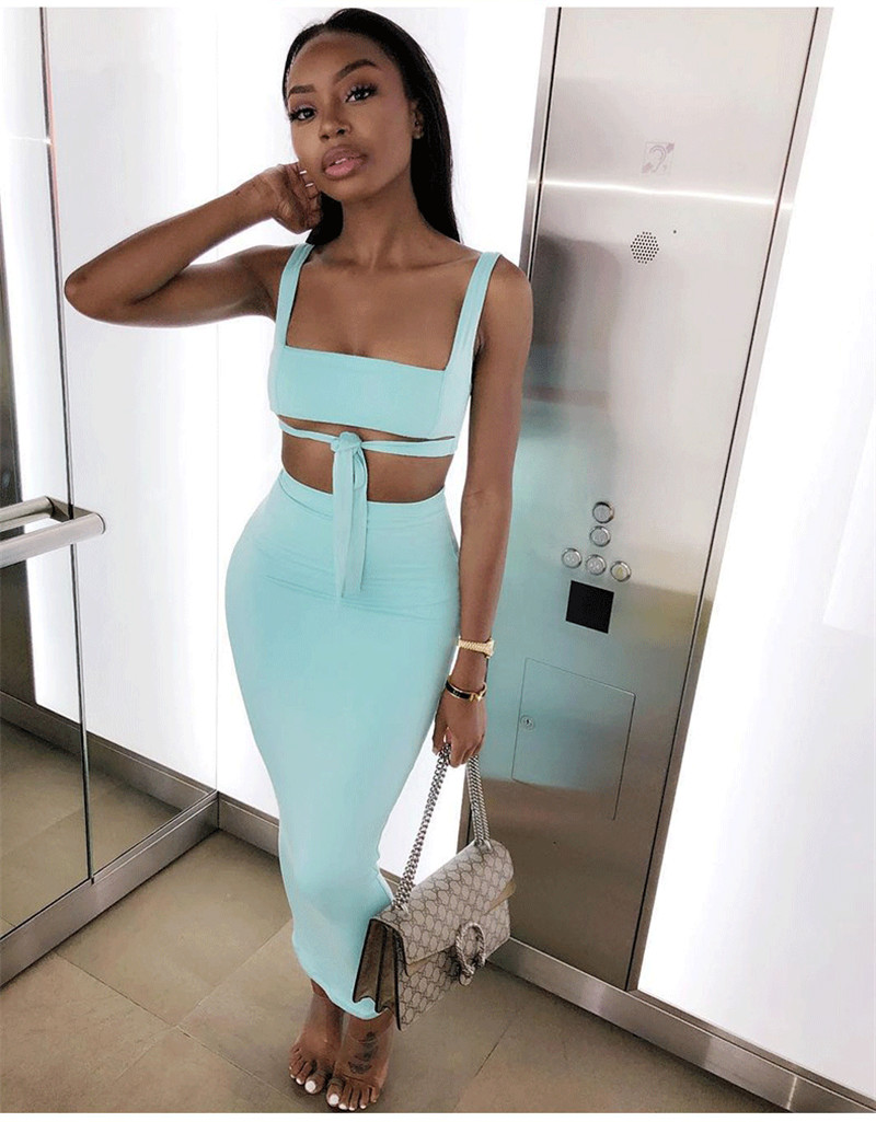 HTB1CQObajDpK1RjSZFrq6y78VXaH - NewAsia Sexy Two Piece Set 2 Piece Set Women Two Piece Outfits Crop Top And Skirt Set Matching Sets Summer Clothes For Women 202
