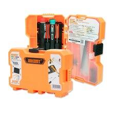 18 in 1 JAKEMY Phone Repair Tools Roller Opening Pry Spudger Tools Screwdriver S