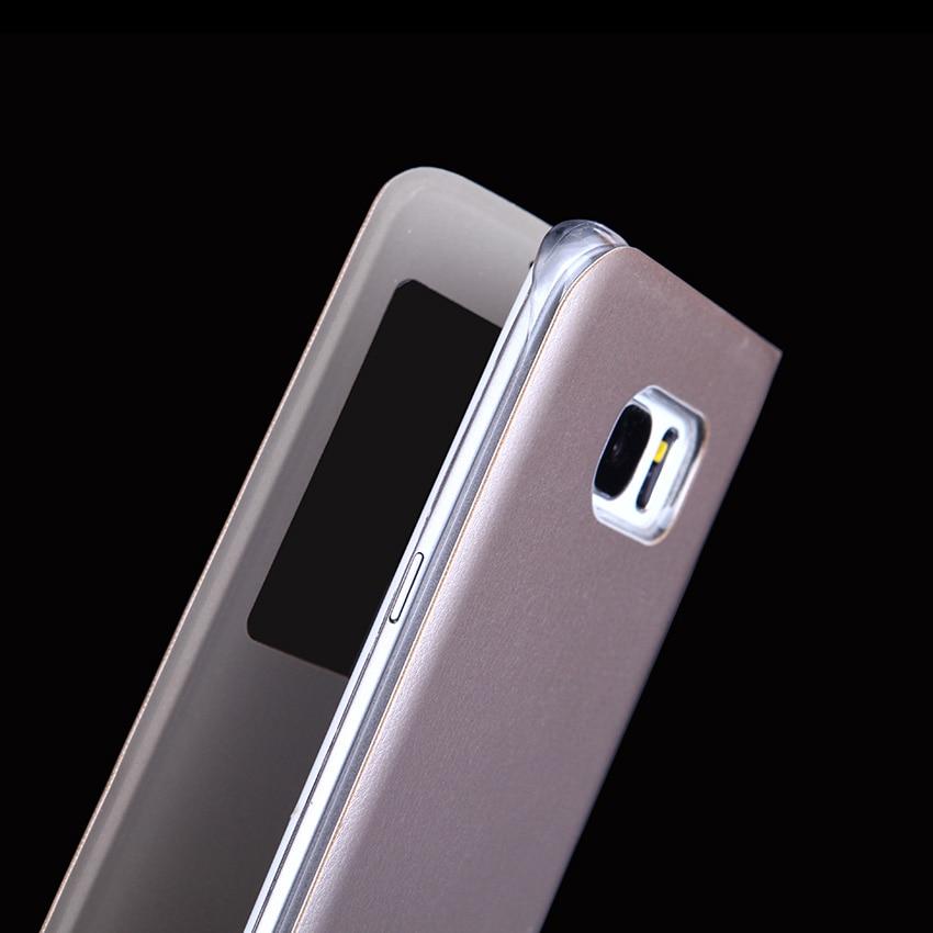Slim Pəncərə görünüşü flip örtüklü, Samsung Galaxy S8 / S8 - Cib telefonu aksesuarları və hissələri - Fotoqrafiya 5