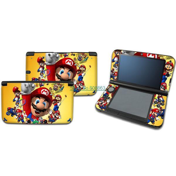 New Super Mario Vinyle Decal Autocollant Peau Housse Pour Nintendo 3ds Xl Ll Xl013 Livraison Gratuite Aliexpress