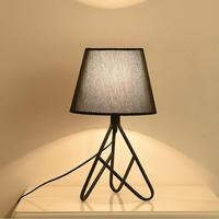 Art Table Lamp Bedlamp Bedroom Living Room Desk Night Bedside Lamps Shade Table Light Lamps Reading light S3
