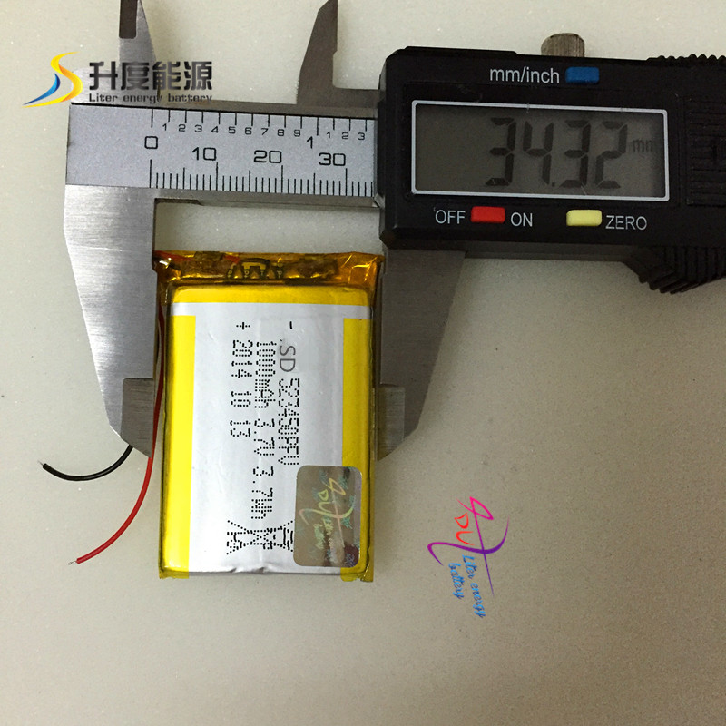 SD523450 Supplier price rechargeable 1000mah polymer <font><b>battery</b></font> 3.7V <font><b>523450</b></font> for electric power tools
