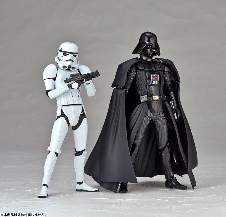 6 STAR WARS Action Figure Darth Vader Stormtrooper Anime Home Car Room Decor Kids Toys
