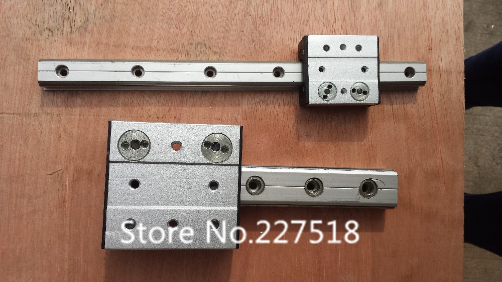 High speed linear guide roller guide external dual axis linear guide OSGR20 with length 650mm with OSGB20 block 60mm length