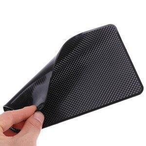 Image 2 - 1PC אוטומטי רכב supplie אנטי סליפ לוח מחוונים Sticky Pad Mat שחור PVC מחזיק דביק שטיח עבור GPS טלפונים סלולרי רכב פנים