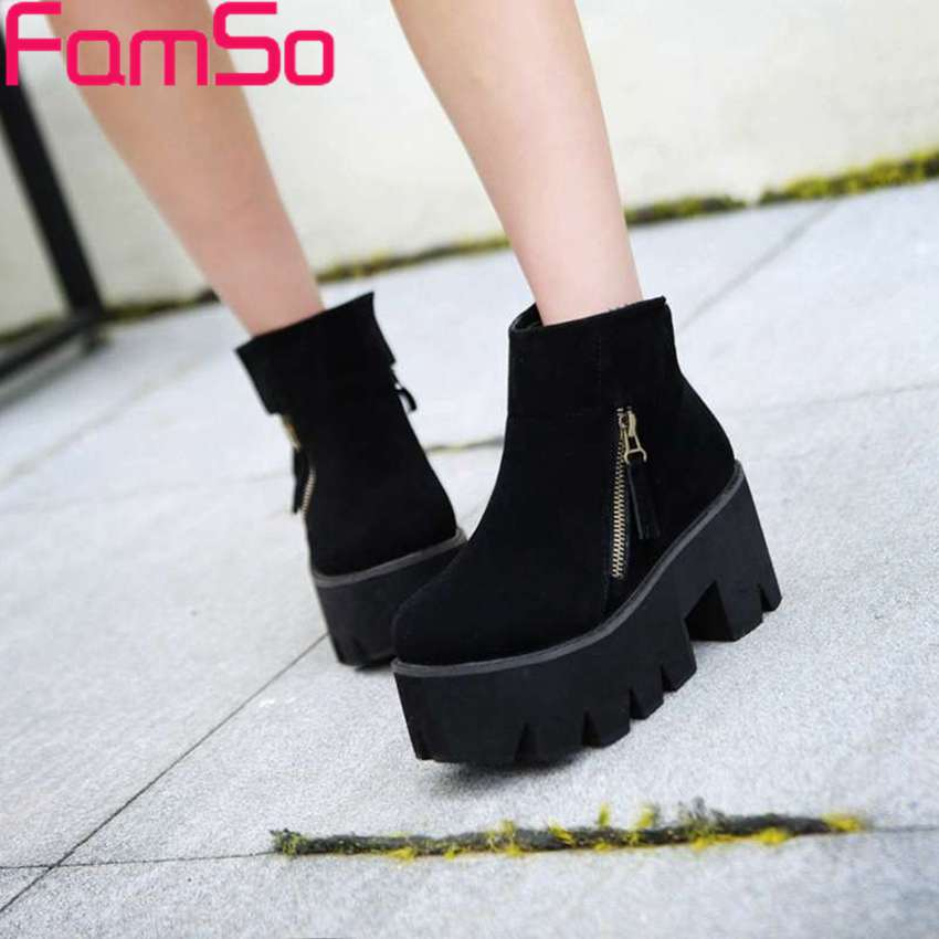 Free shipping 2016 New Arrival font b Women b font Boots Spring Autumn Martin Boots high