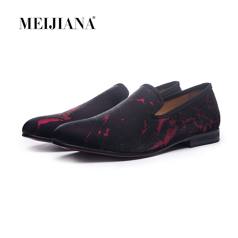 Man shoes luxury 2019 Man shoes brand casual luxury sharp red and navy men s shoes