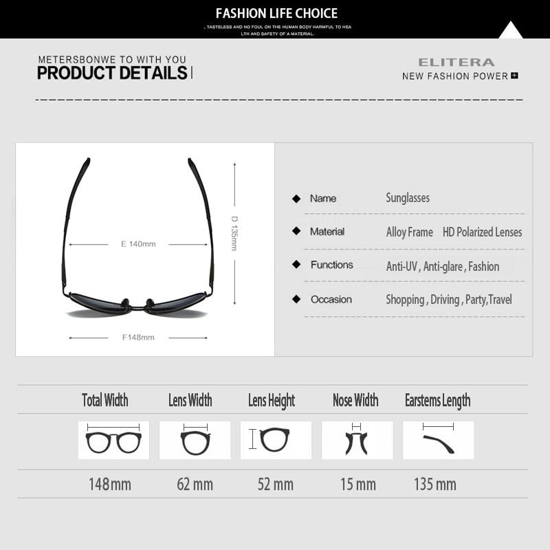 ELITERA γυαλιά ηλίου αλουμινίου - Αξεσουάρ ένδυσης - Φωτογραφία 5