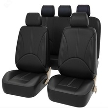 Designer High Quality Car Seat Protectors  Pu Leather Covers Fashion Auto Cushion Universal