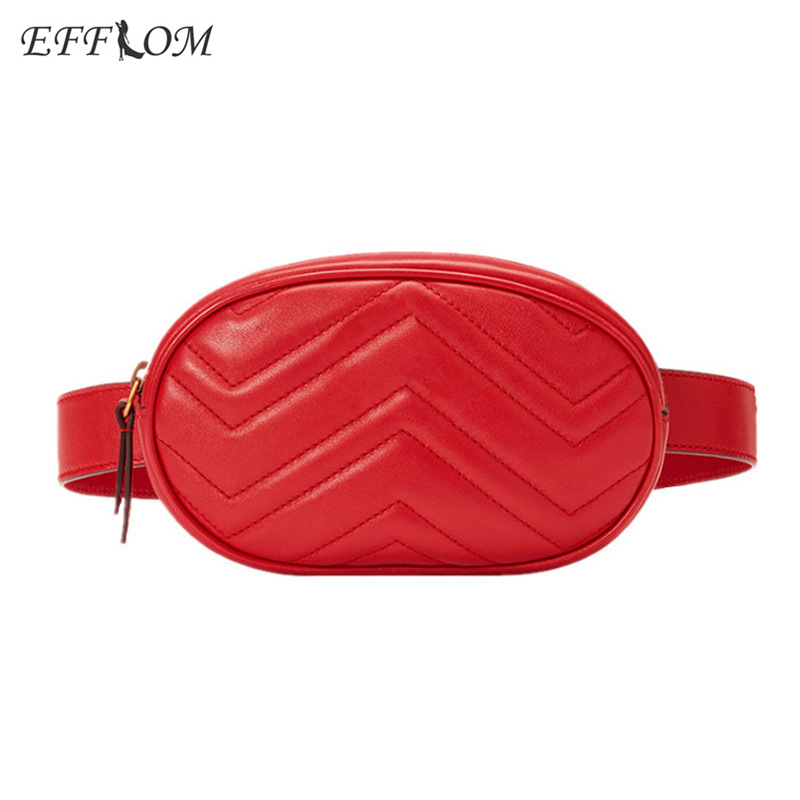 83e4c70be059 Detail Feedback Questions about Fashion Fanny Pack For Women Waist Belt Bag  PU Leather Woman Waist Packs Small Hip Bag Steampunk Velvet Pouch Casual Bum  Bag ...