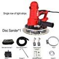 AC220V 600-2300r/мин полировщик для стен  шлифовальный станок  портативный шлифовальный станок для сухих стен  шлифовальный станок для шпатлевки с...