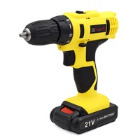 21V 2 Speed Electric Drill Lithium Cordless Screwdriver Power Drills Multi function Household Electric Screwdriver Tools|electrical screwdriver tools|cordless screwdriver|electric screwdriver -