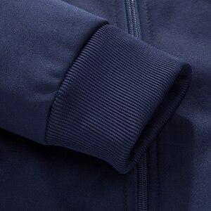 Image 4 - Bolubao Frühling Männer Set Qualität Fleece Sweatshirt + Hosen Männliche Trainingsanzug Sporting Schweiß Anzüge Herren Survêtement Sportswear