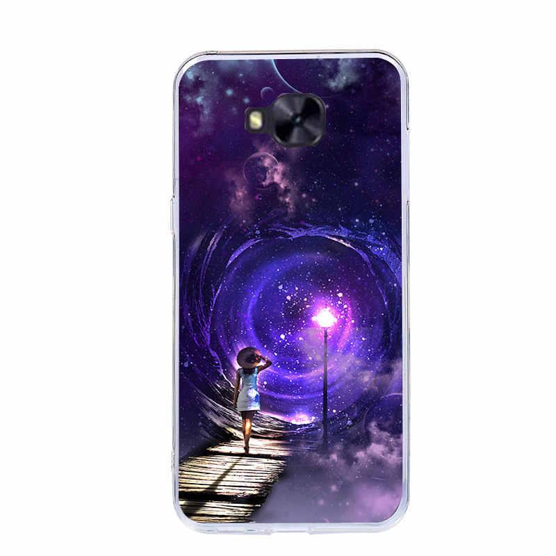 """J & R чехол для телефона ASUS ZenFone ZD552KL Мягкий силиконовый чехол TPU для ASUS ZenFone 4 Selfie Pro чехлы с изображениями 5,5"""""""
