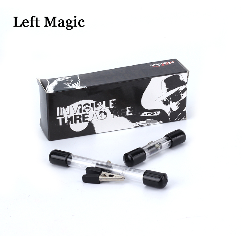 Mini Large ITR Invisible Thread Retractor Reel  Magic Tricks Stage Street Floating Tricks Magician Props Accessories Gimmick