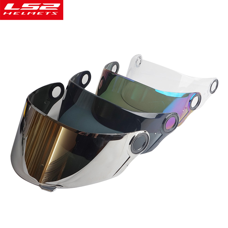 LS2 FF358 face shield motocycle helmet sun visor full face UV-Protected helmets lens ant ...