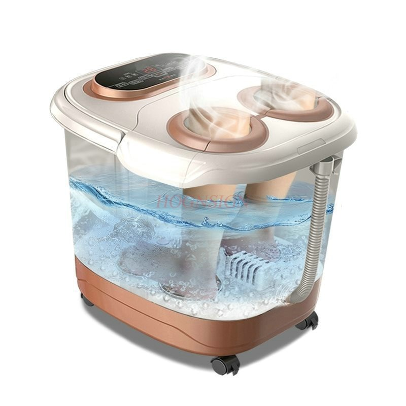 Foot Clean Tub Electric Automatic Massage Heating Footbath Feet Wash Fumigation Plantar Bath Barrel Auto Household Deep BasinFoot Clean Tub Electric Automatic Massage Heating Footbath Feet Wash Fumigation Plantar Bath Barrel Auto Household Deep Basin