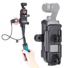 DJI Osmo boîtier de poche cadre Vlog support chaussure froide w 1/4 trépied Selfie bâton Osmo accessoires de poche pour vélo Motovlg