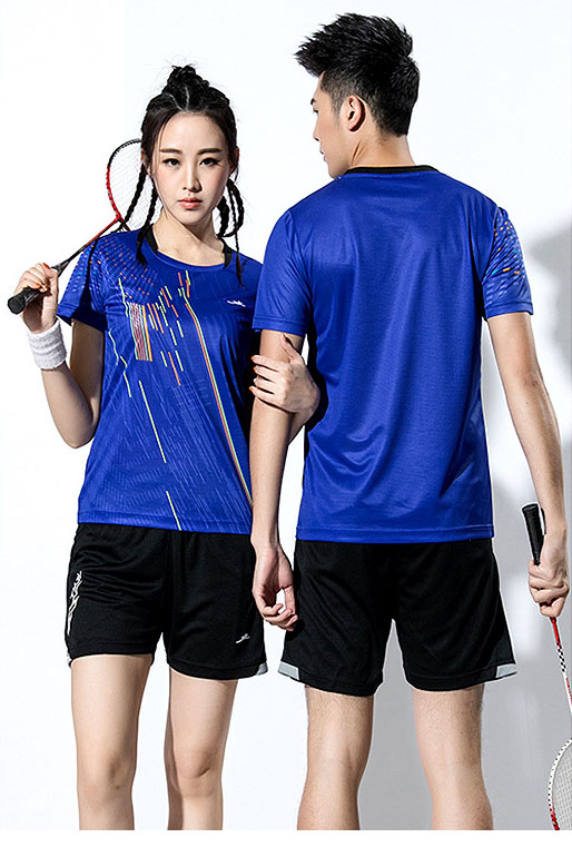 2018 New Badminton shirt , Tennis shirts Men / Women, Quick dry Tennis tshirts ,Table Tennis shirts , Ping Pong  sports shirt 3