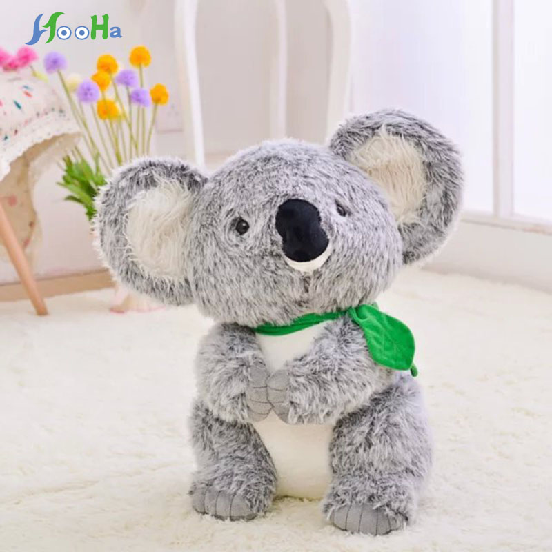 30cm 45cm Plush Toy Koala Stuffed And Soft Animal Toys Simulation Australian Koala Doll Best Gift For Children Kid Free Shipping stuffed animal toy monkey doll simulation silver back gorilla dolls plush toys for children