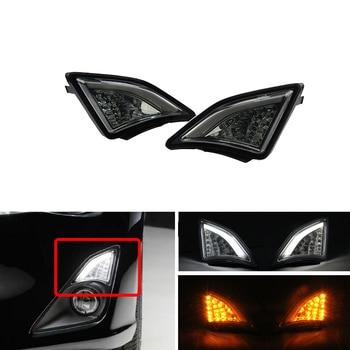 Bright Smoke For Subaru BRZ Scion 2013~ GT86 Scion FR-S Led 3D Corner Lamp Turn Signal Front Bumper Corner Lights Car-Styling