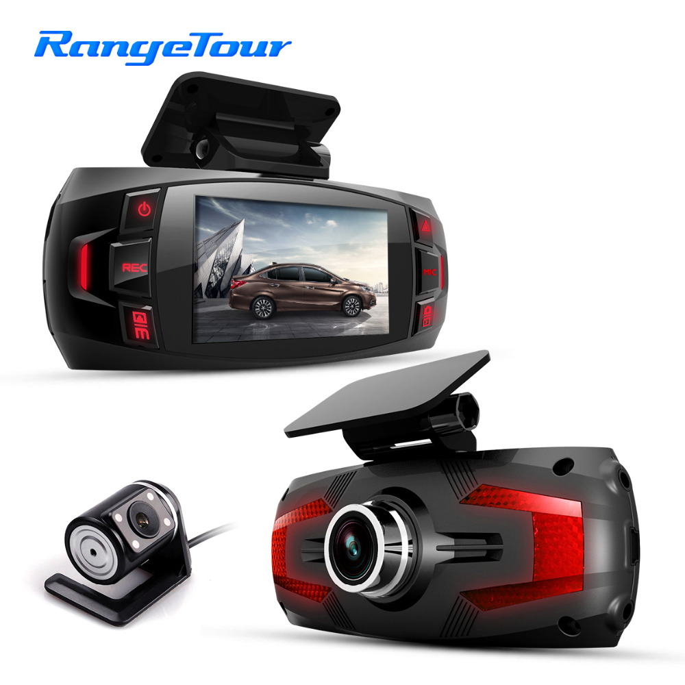 """Range Tour Z4 Plus Dual Lens car dvr 1080p Car Dashboard  Camera 2.7"""" LCD 170 Degree Dash Cam with Rear Dashcam Video Recorder-in DVR/Dash Camera from Automobiles & Motorcycles    1"""