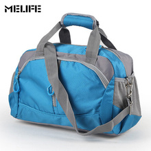 MELIFE Sport Gym Bag Training Men Women Fitness Bags Kalung Nylon Kapasiti Besar Ultralight Outdoor yoga travel handbags