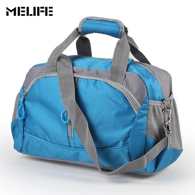 MELIFE Sport Gym Bag Training Men Woman Fitness Bags Waterproof Nylon Large Capacity Ultralight Outdoor yoga travel handbags