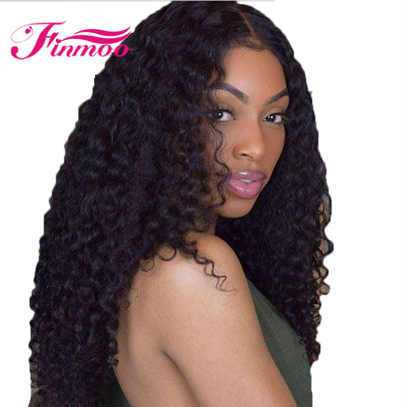 Full Lace Wigs Deep Wave Peruvian Hair Remy Hair With Pre Plucked Natural Hairline Baby Hair