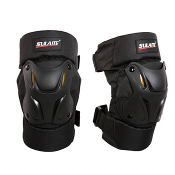 Rodilleras negras de motocicleta rodilleras protectoras de bicicleta rodilleras de carreras rodilleras protectoras Accesorios