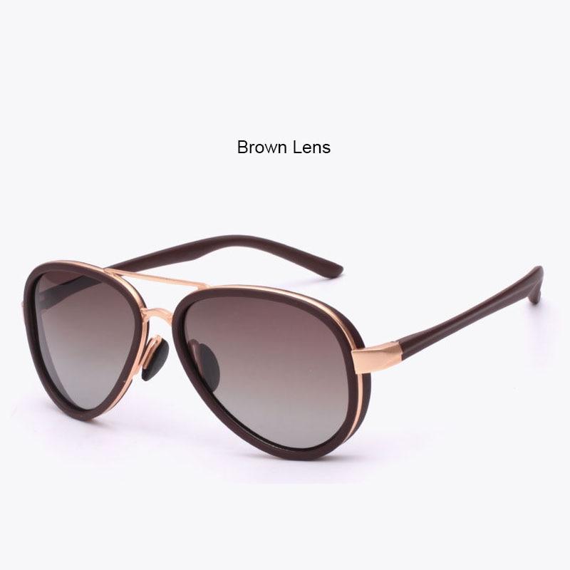 71df77148c 6 colores lentes de sol de marca mujer 2015 aviador mujeres moda gafas de  sol polarizadas marco de la aleación de Goggle señora gafas en Disfraces de  cine ...