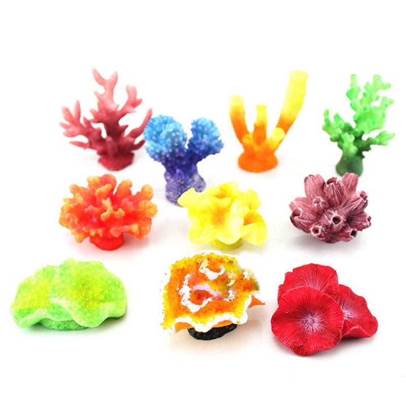 New 9 style soft coral crafts artificial for aquarium for Aquarium decoration for sale