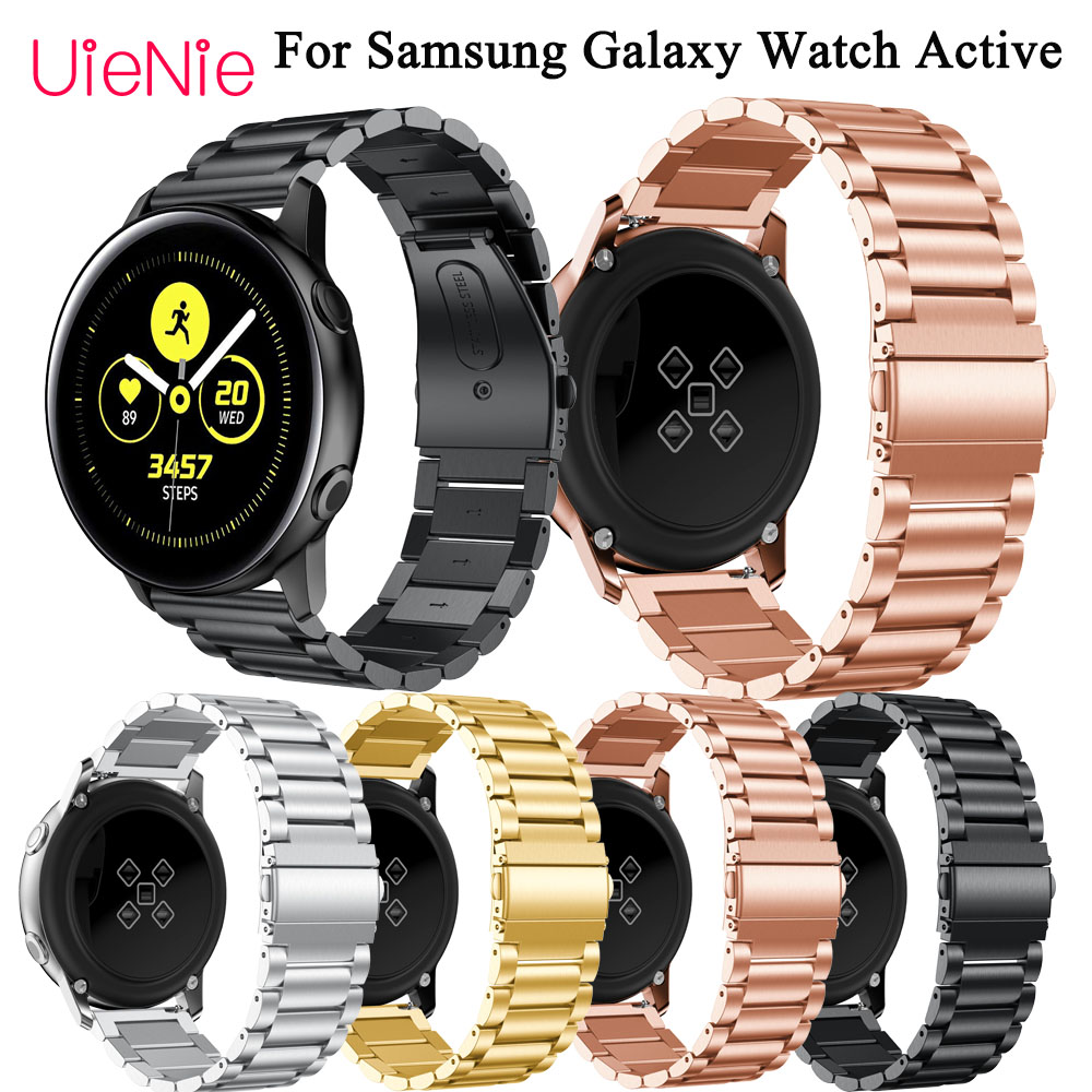 20mm Bracelet For Samsung Galaxy Watch Active smartwatch Strap for Samsung Gear S2 wristband Accessories For Samsung Galaxy 42mm