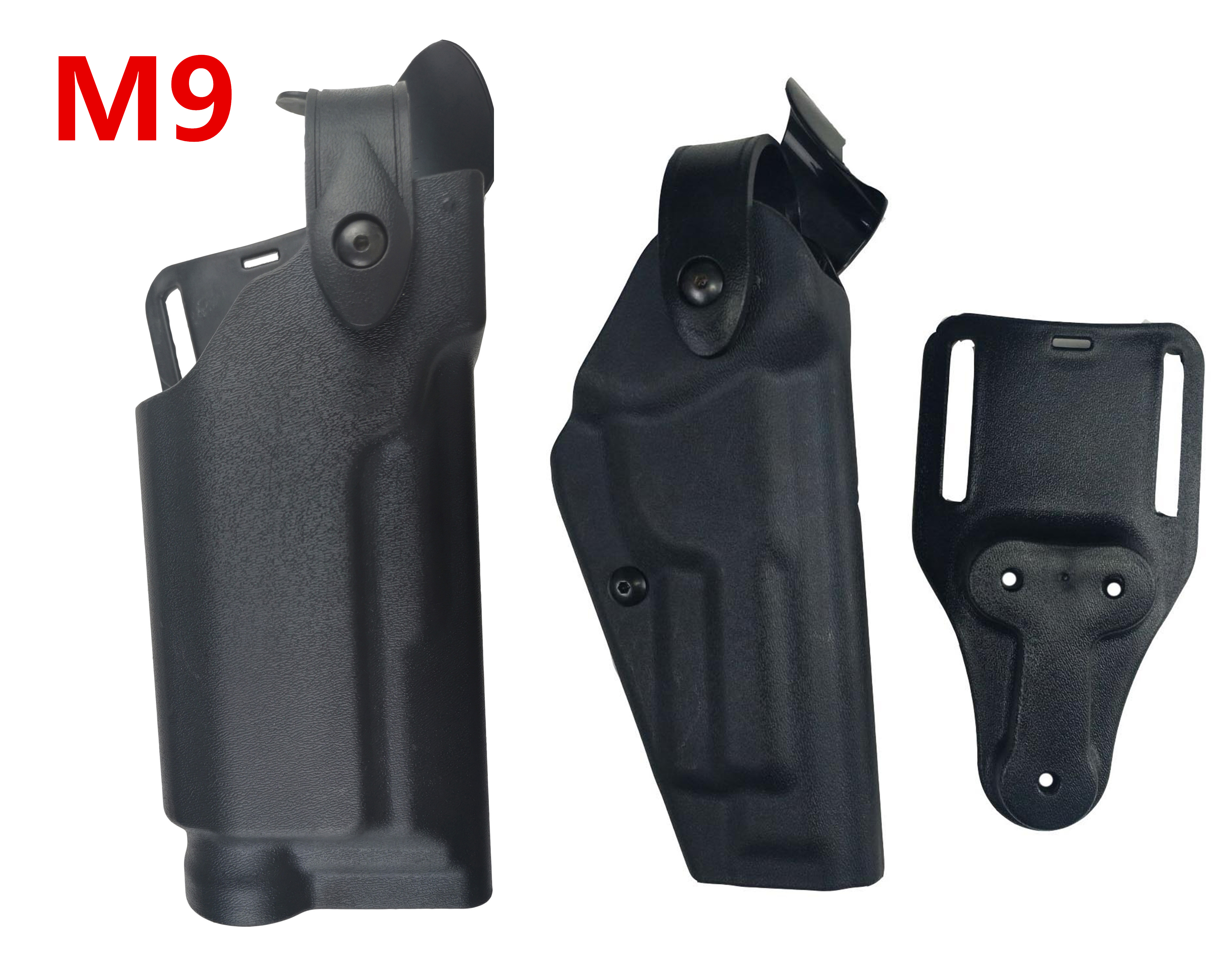 Tactical Beretta M9 92 96 Airsoft gun Holster Hunting Gear Light Bearing Belt Holster Right Hand Gun Carry Pistol Waist Holsters in Holsters from Sports Entertainment
