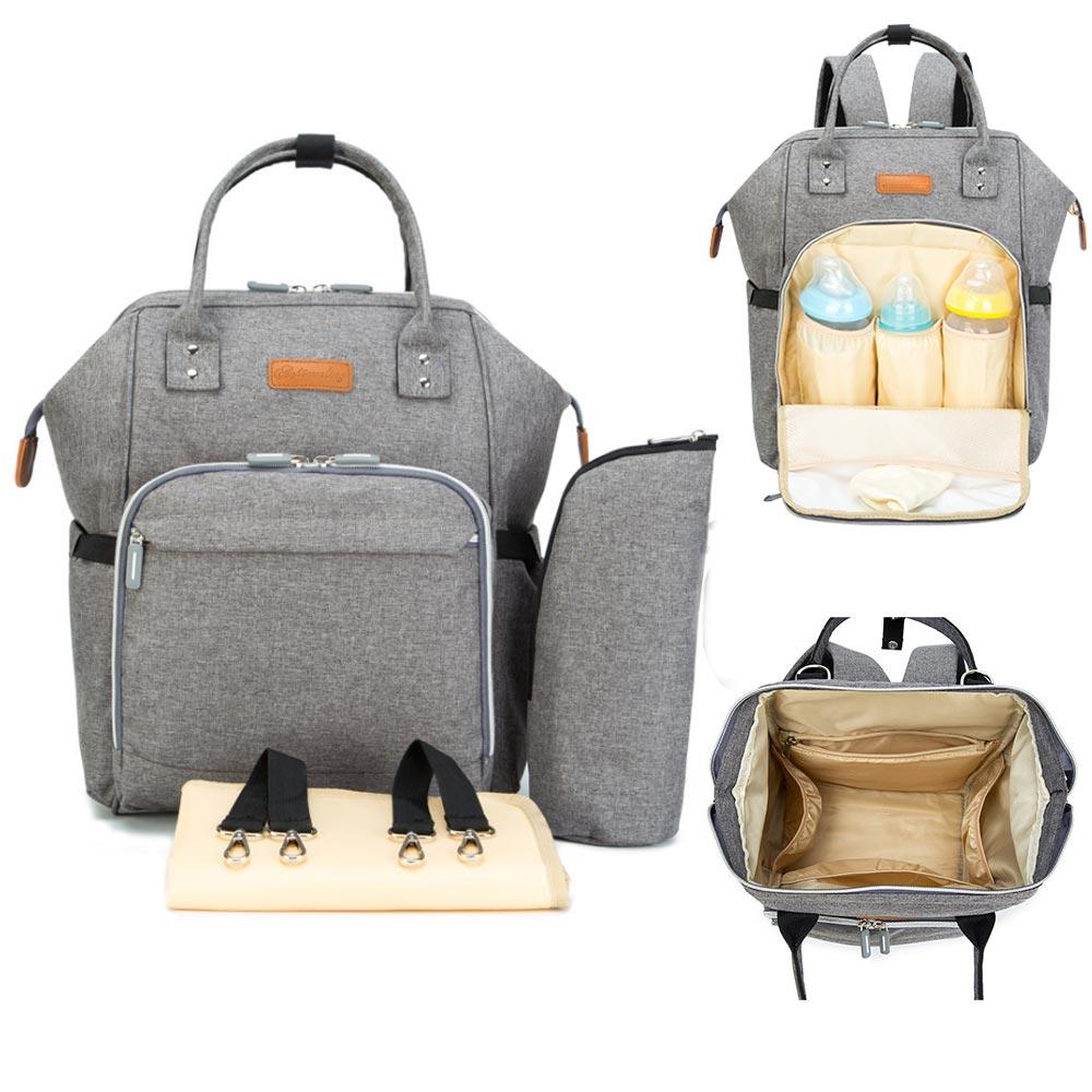 Большой емкости рюкзак пеленки мумии материнства подгузник сумки Сумка для коляски сумка водонепроницаемый кормящих Путешествия Сумочка ...