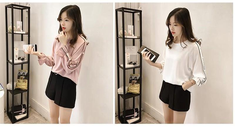 HTB1CQTsOFXXXXcPaFXXq6xXFXXXM - Chiffon Blouses Plus Size M-4XL Korean Women Long Sleeve