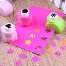 Тиснение DIY бумажный Дырокол резак малыш ребенок мини печать ручной формирователь скрапбукинга бирки карты Ремесло Инструмент от 1 шт
