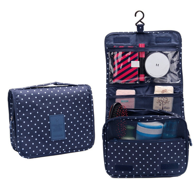 cd858e2f3b7 Portable Hanging Toiletry Bag Travel Kit Organizer Cosmetic Bag Household  Storage Pack Bathroom Storage for Men ...