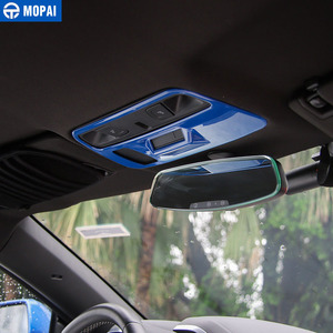 Image 3 - MOPAI ABS Car Interior Roof Reading Light Lamp Decoration Cover Stickers for Chevrolet Camaro 2017 Up Car Accessories Styling