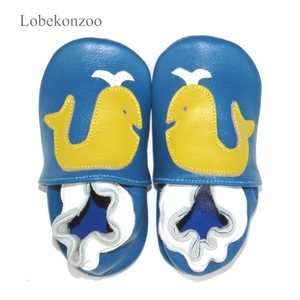 Image 4 - Lobekonzoo  hot sell baby boy shoes  Guaranteed 100% soft soled Genuine Leather baby First walkers for boys   infant boy shoes