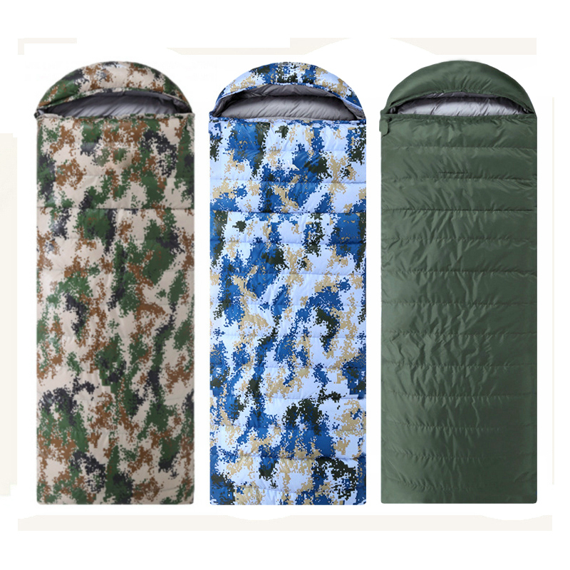 Thicken Duck Down Sleeping Bag Winter Outdoor Camping Travel Hiking Splicable Waterproof Envelope Type Sleeping Bags case for huawei honor 7x shockproof with stand 360 rotation back cover contrast color hard pc
