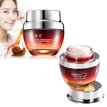 New Red Ginseng Snail Cream Face  5