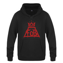 Fall Out Boy Hoodie Cotton Winter Teenages Fall Out Boy FOB Logo  Sweatershirt Pullover Hoody With · 8 Colors Available fdf8aa805c62