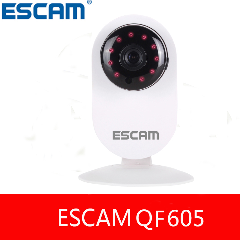 ФОТО ESCAM Ant QF605 HD 720P Wifi Smart IP Security Mini Camera  IR Cut P2P Support IOS/Android TwoWay Audio baby monitor than YI Dom
