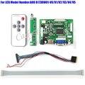 HDMI VGA 2AV Controller Board + 40 Pins Lvds Cable + Remote Kits for B173RW01 - V0/V1/V2/V3 1600x900 2ch 6 bit LCD Display Panel
